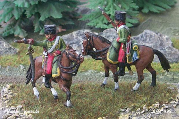 Baden Ussari, 1:72 Soldatini Revell 02576