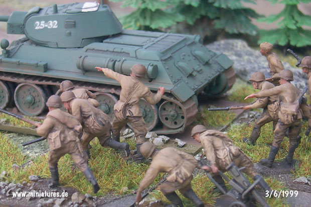 Infantería Soviética, 1:72 Figuras Revell 02510