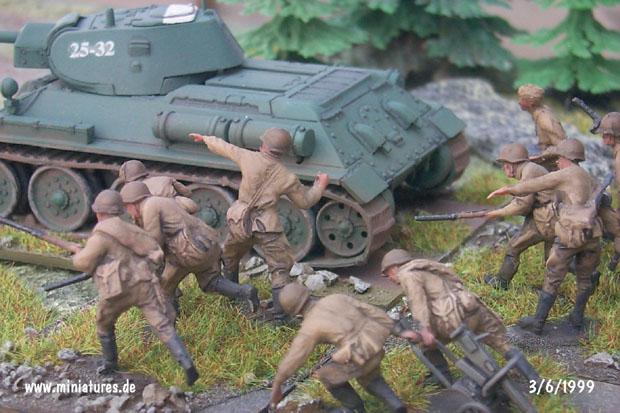 SFanteria Sovietica, 1:72 Soldatini Revell 02510