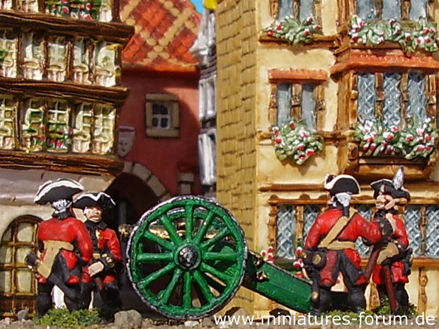 Russian Artillery, 15 mm Figuren Essex Miniatures