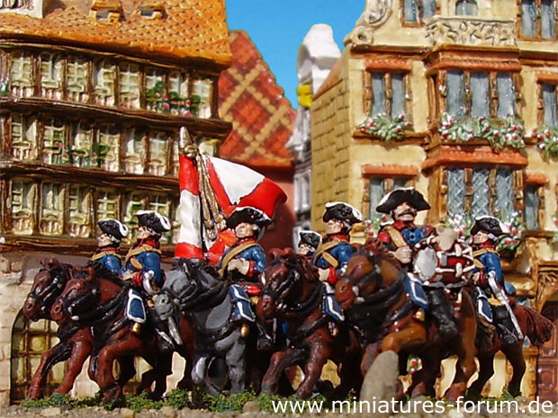 Russian Dragoons, 15 mm Figuren Essex Miniatures