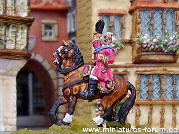 Saxon Generallieutenant Prinz Xaver von Sachsen, Comte de Lusace, 15 mm Figuras Old Glory