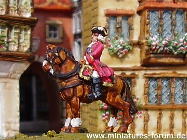 Saxon Generalmajor Noe de Crousatz, 15 mm Figuras Old Glory