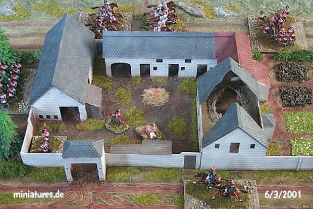Waterloo farm la haye sainte 1 76 airfix 04738
