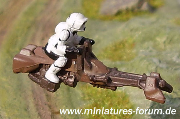 Imperial Stormtrooper from the Star Wars Miniatures Game