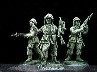 Paracadutisti US, 1942–1945, 1:72 Soldatini ESCI P-209
