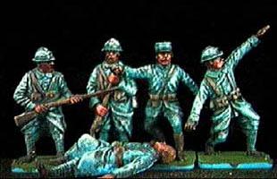 Pittura Veloce dei Soldatini: Verniciare