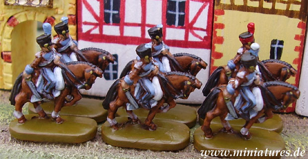 Chasseur à Cheval, 1:144 Miniature Parker Brothers Risk