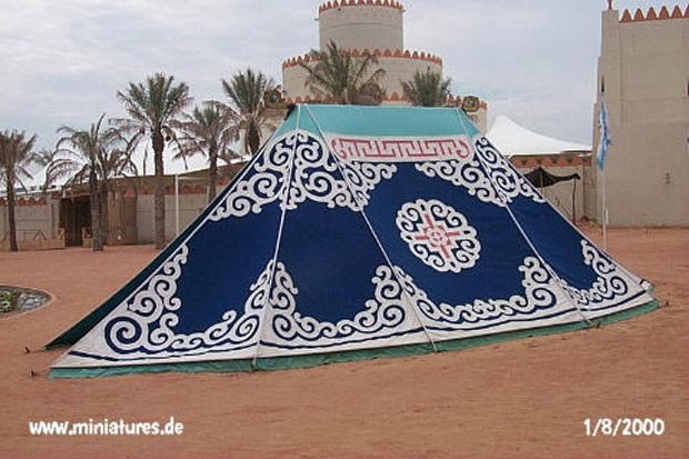 Mid-sized Mongolian tent