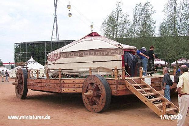 Ideas para bagages Mongolian-yurt-palace