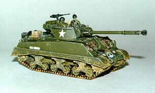 90 mm Gun Motor Carriage M36.B1 Tank Destroyer, 1:76 Model Kit ESCI / Fujimi