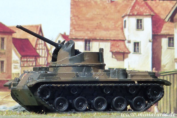 40 mm Self-Propelled Anti-Aircraft Gun M42 Duster