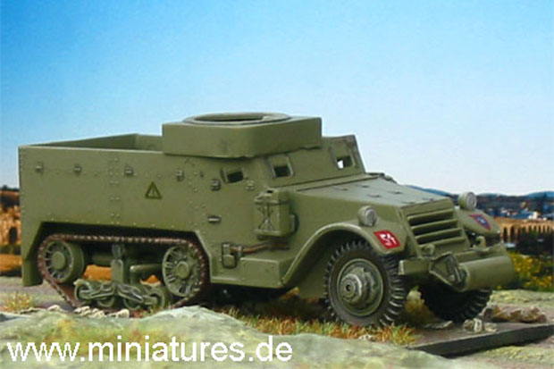 British M5A1 Half-Track with ring mount, 1:76 Model Kit Airfix 02318