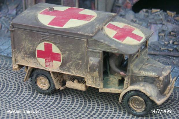 Ambulancia Austin K2, 1:76 Maqueta Airfix 03304