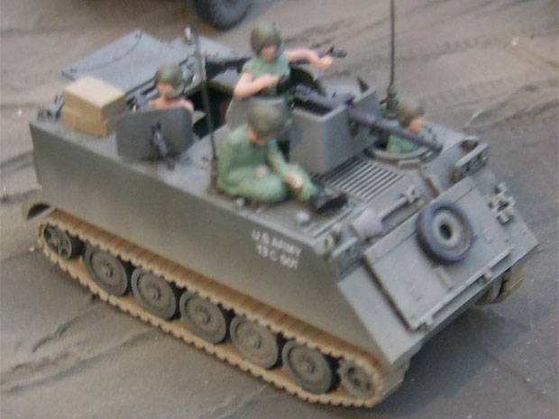 South Vietnamese M113 armored personnel carrier