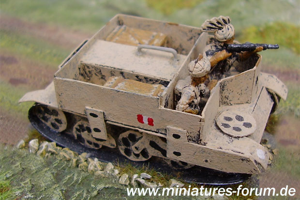 Indian Army Bren Carrier, 1:72 Modellismo di Carta
