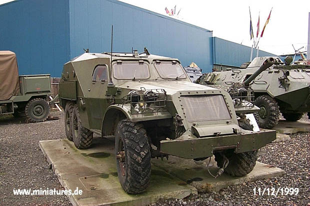 BTR-152.K Armoured Personnel Carrier with Armoured Roof