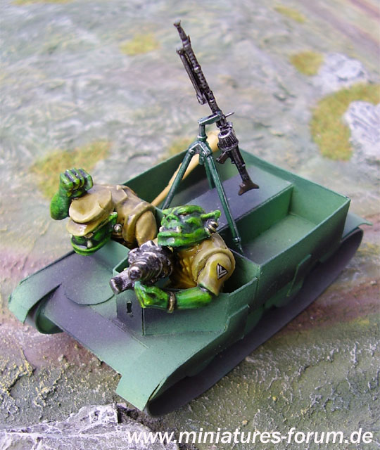 Universal Carrier with Orc Crew
