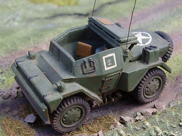 Daimler Dingo Mk.II Scout Car, 1:76 Matchbox