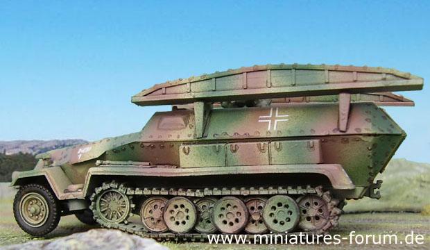 Sd.Kfz. 251/7 Pionier-Geräte-Panzerwagen, 1:72 Modellismo ESCI 8343
