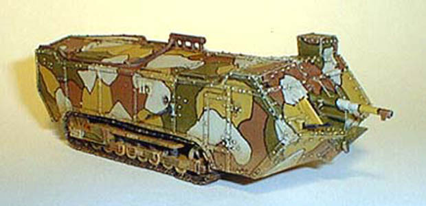 French St. Chamond M-16 Breakthrough Tank of World War One, 1917–1918