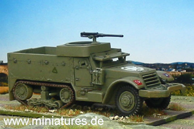 M5A1 half-track of a divisional motorized infantry battalion