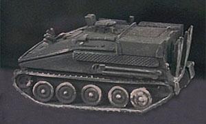 Carro Recupero Britannico F.V. 106 Samson, 1:87 H0 Modellismo Trident