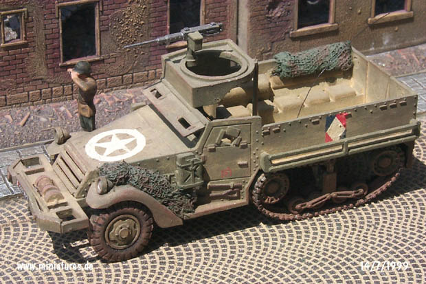 M3 Half-Track with .50 cal. Browning HMG