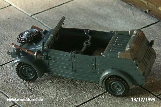 German VW K1 Type 82 »Kübelwagen«, 1:72 Model Kit Hasegawa MT12