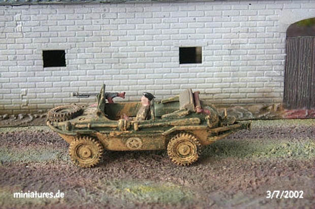 German VW K2s Type 166 Schimmwagen, 1:72 Model Kit Hasegawa MT13