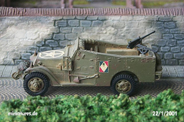 M3A1 Scout Car, Seconda Guerra Mondiale, 1939–1945