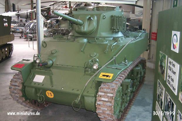 Tanque Ligero Británico M5A1 Stuart, WTS Koblenz