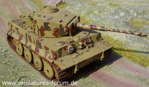 Carro Armato Tedesco Tiger I Ausf. E