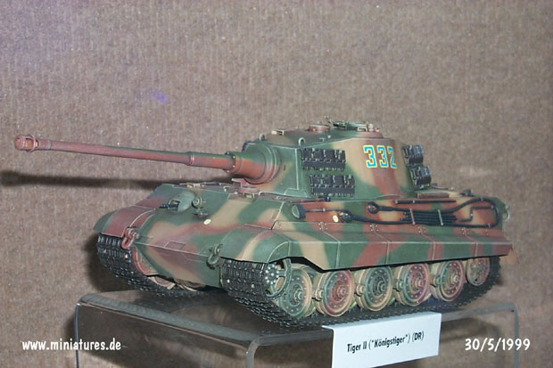 Panzer VI Alemán, Tiger II Ausf. B, WTS Koblenz