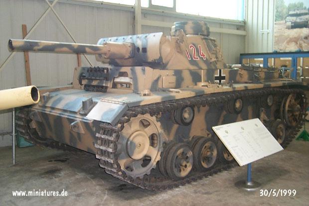 Tanque Lanzallamas Alemán Panzer III (Flamm), WTS Koblenz