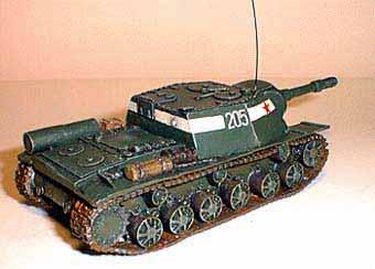 SU-152 Cañón Autopropulsado Pesado Soviético