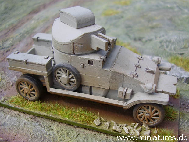 Vehículo Blindado Lanchester, 1:72 Maqueta Reviresco AC-18