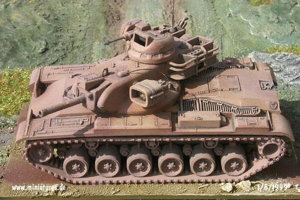 Carro de Combate M60.A2 Starship, 1:87 Roco 181/297