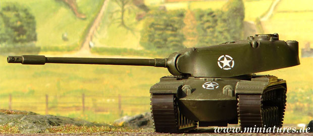 M103 Heavy Tank, 1:87 Scale Model ROCO 182