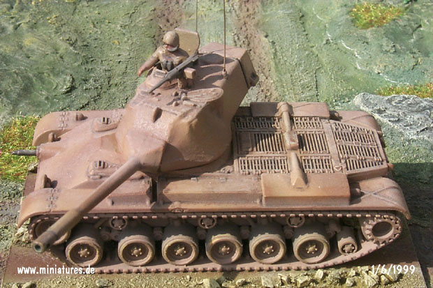 Carro de Combate M47 Patton, 1:87 Roco 221