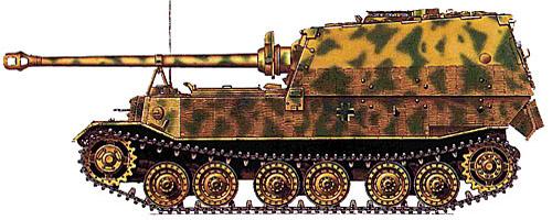 Jagdpanzer Elefant, 1:87 Modellismo Roco 688