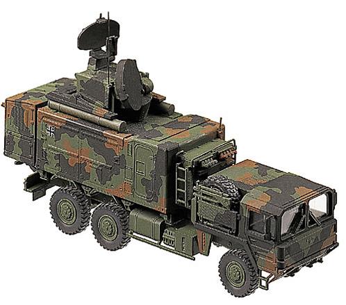 Roland LVB, camouflaged, 1:87 Modellismo Roco 861