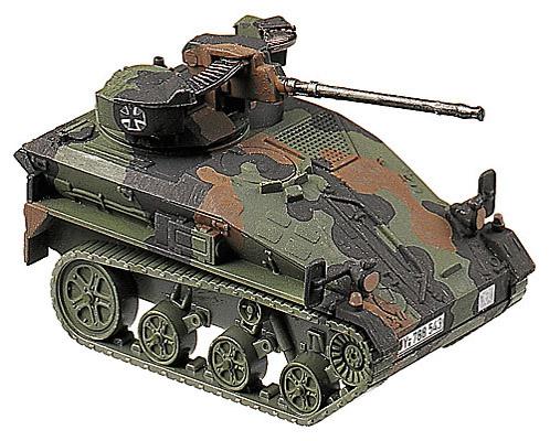 Wiesel 1/2-cm-MK, camouflaged, 1:87 Modellismo Roco 864