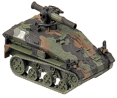 Wiesel 1/TOW, camouflaged, 1:87 Maqueta Roco 864