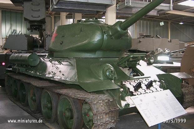 Tanque Medio Soviético T-34/85, WTS Koblenz