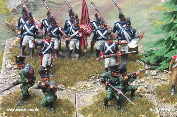 Wurtemberg Regimiento Cazadores König